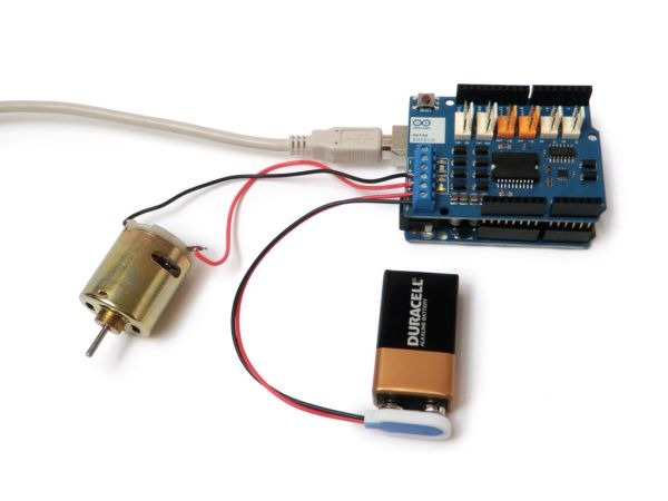 ArduinoWithMotorDriver
